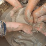Making clay