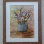Mixed flower vase