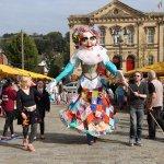 Molly Hawkins Puppet at Batley Festival 2014