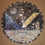 Mosaic Logo Clock