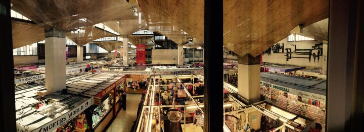Queensgate Market roof