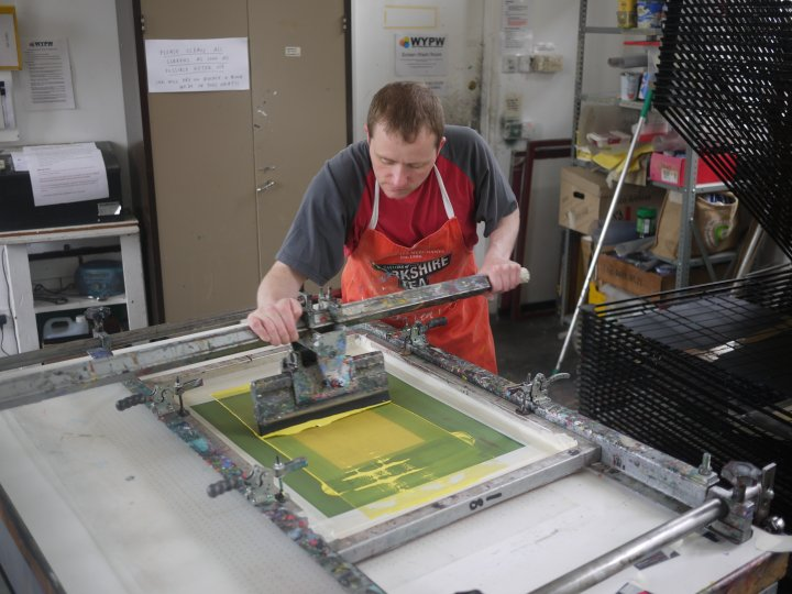 Screen printing room prt 2