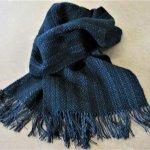 Yorkshire Mixtures scarf 'Raven'