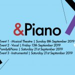 &Piano 2019 Event Dates Announced