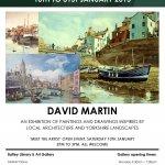 David Martin - meet the artist, this Saturday