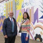 Giant 'Urban Rewild' mural revealed as part of Dewsbury Creative