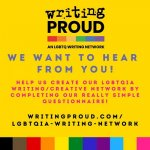 LGBTQIA Writing/Creative Network - Have Your Say!