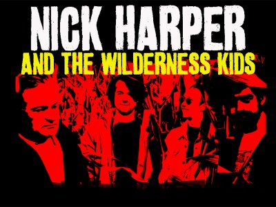 Nick Harper & The Wilderness Kids are coming back to Small Seeds