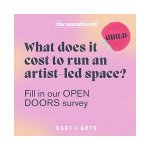 Open Doors - a campaign survey for the artist-led sector