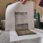 Plywood Lithography – August