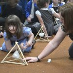 SCHOOLCHILDREN LEARN ABOUT THE ROMANS AT TOLSON MUSEUM