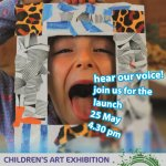 Sheer Brilliance Children's Art Exhbition Thursday 25th May