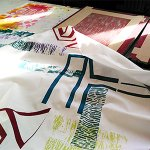 Textile Printing & Hand-Made Marks – September