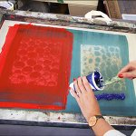 Textile Screen Printing – July