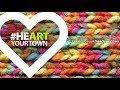#HEARTyourtown - artists installing their artwork
