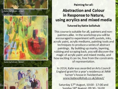 Abstraction and Colour in Response to Nature: painting for all