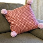 Adults Sewing - Create a Pom Pom Cushion