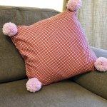 Adults Sewing - Create a Pom Pom Cushion