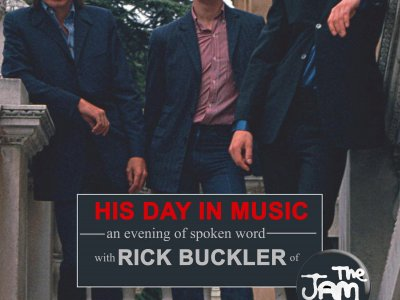 An evening of spoken word with RICK BUCKLER of 'The Jam'