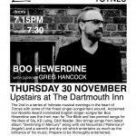 Boo Hewerdine with support from Greg Hancock - Totnes