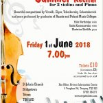 Concert for 2 violins and piano