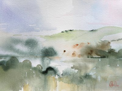 Creating Atmosphere in watercolour course with Paul Riley