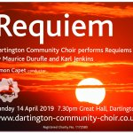 Dartington Community Choir Spring Concert: Requiem