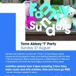Family Sunday - T Party!