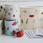 Freemotion Embroidery Lampshade Workshop