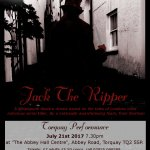Jack The Ripper (steampunk theatre) Torquay performance