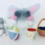 Kids craft - Bunny Pom Pom Ears & Pottery Workshop