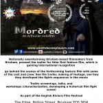 Mordred screenings & Workshops at the English Riviera Film Fest