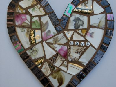 Mosaic Love Heart Workshop
