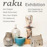 Raku Exhibition 2018