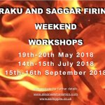SAGGAR AND RAKU FIRING WORKSHOPS