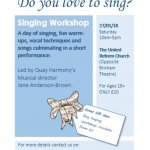 Singing Workshop