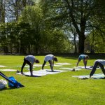 Small group personal training in the Walled Garden