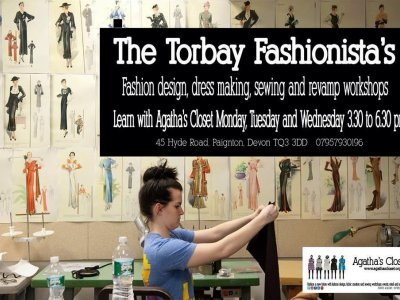 The Torbay Fashionista's : Mon, Tues, Wed : 3.30 to 6.30pm