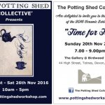 Time for Tea - Potting Shed Collective Exhibition