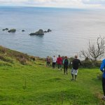 Trust10 trail run at Coleton Fishacre