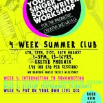 YOUNG SINGER SONGWRITER WORKSHOP @ EXETER PHOENIX