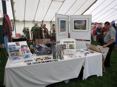 2-unit stand at the Kingsbridge Show