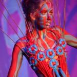 Liz Lockyear-Willow- Model Anna Baumgart - Body Paint by Saskia