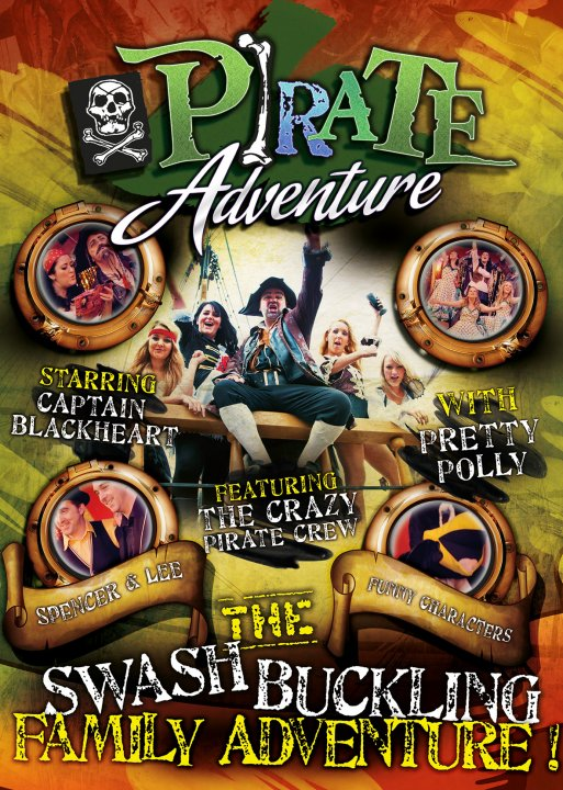 A Pirate Adventure comes to The Palace Theatre during half term.