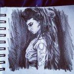 Amy Winehouse Sketch