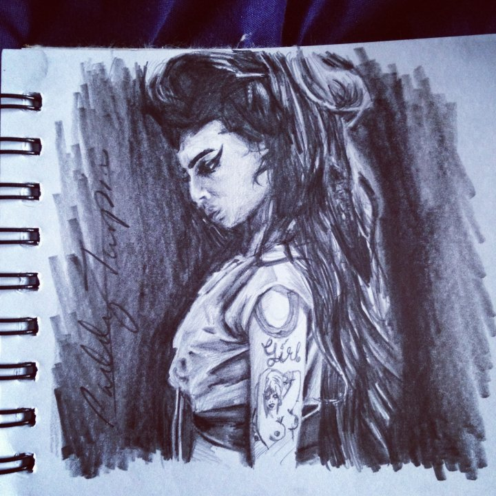 Amy Winehouse Sketch