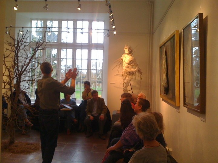 Andrew Lacey's Artist Talk