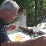 Artist Paul Riley