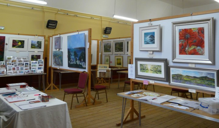 August 2012 Summer Exhibition at St Annes Hall Babbacombe