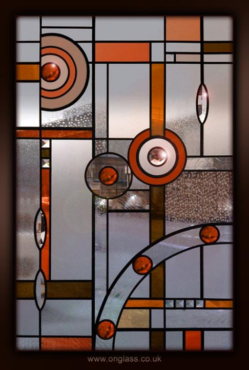 #Autumn colours #stained glass